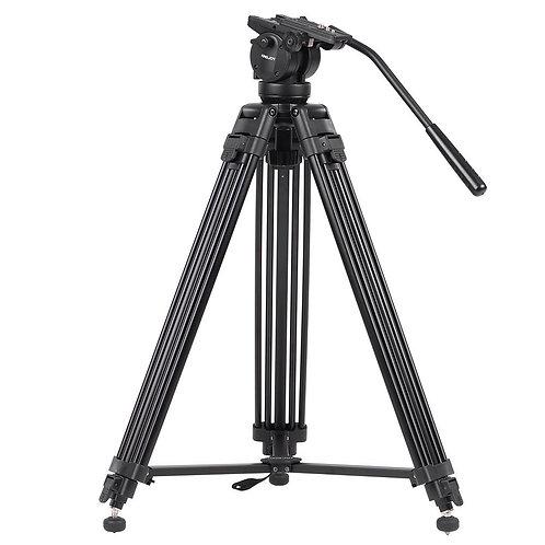 Tripode de video KingJoy VT-2500, 155cm, 15kg.