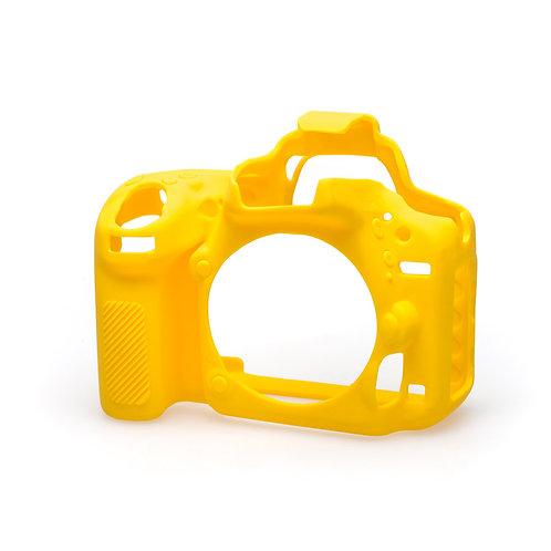 Carcasa easyCover Nikon D750, Amarillo + Mica
