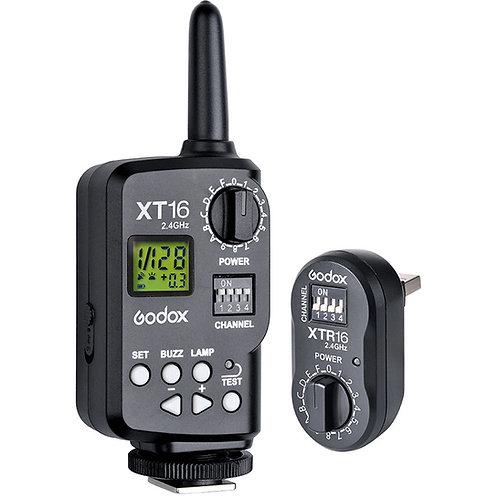 Kit Disparadores Godox XT-16, 2.4GHz