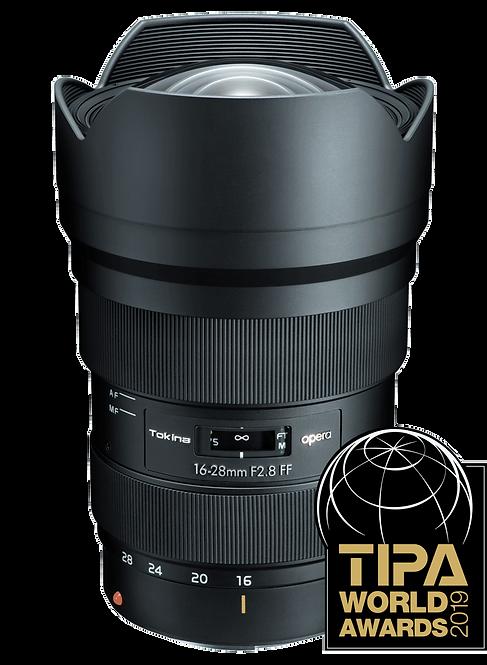 Lente Tokina Opera 16-28mm F2.8 FF, Autofocus para Canon EF