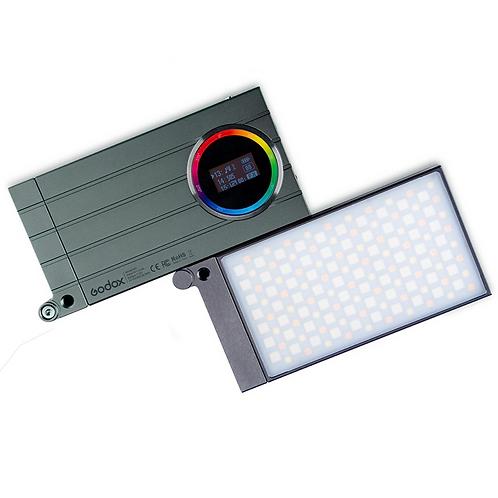 LED creativo Godox M1 bicolor + RGB + batería de litio