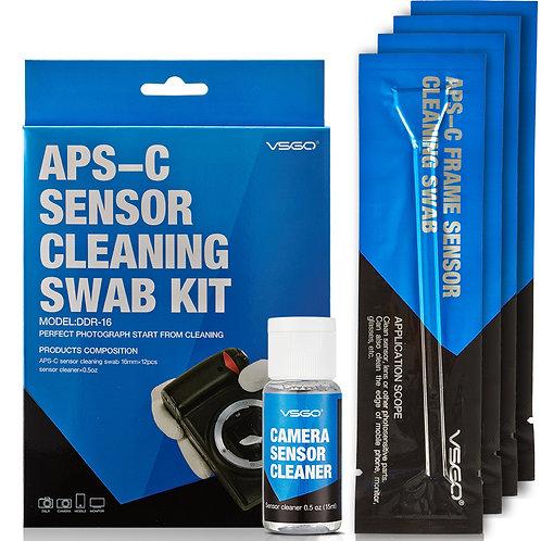 Kit de limpieza VSGO DDR-16, para sensores APS-C