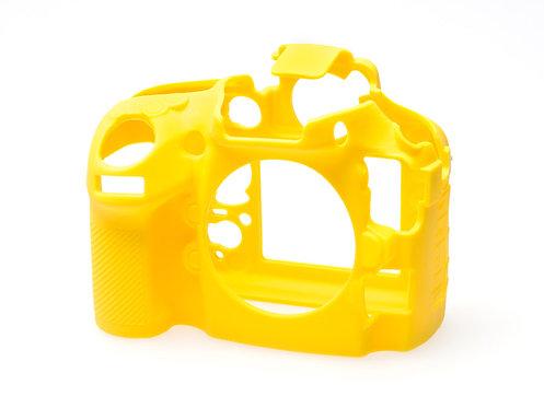 Carcasa easyCover Nikon D800, D800E, Amarillo + Mica