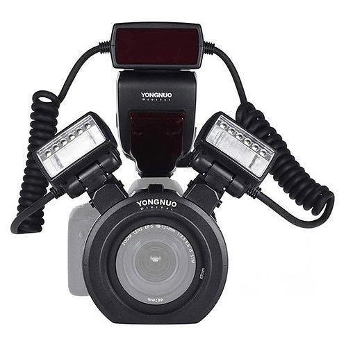 Twin Flash Macro Anular Yongnuo YN24EX TTL para Canon