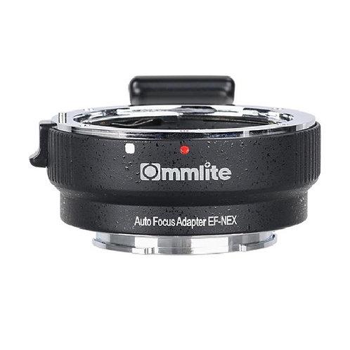 Adaptador automático Commlite CM-EF-NEX B, lentes Canon EF en camaras Sony E