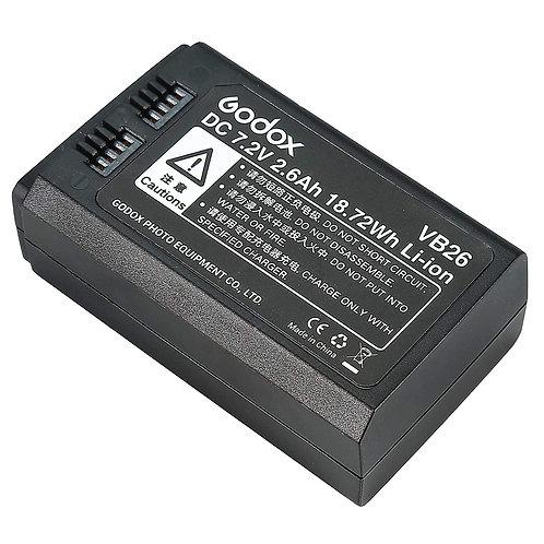 Bateria Godox Witstro VB26 para flash V1
