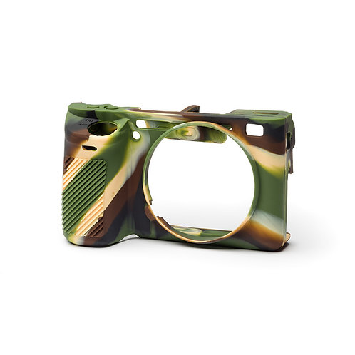 Carcasa easyCover Sony A6500, Camuflaje + Mica