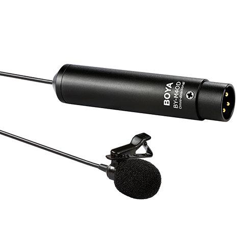 Micrófono corbatero omni direccional Boya BY-M4OD con conector XLR