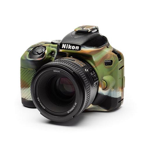 Carcasa easyCover Nikon D3500, Camuflaje + Mica