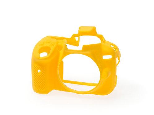 Carcasa easyCover Nikon D5300, Amarillo + Mica