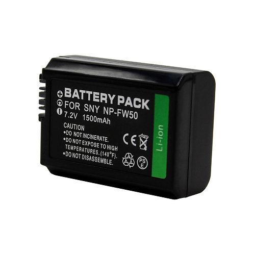 Bateria generica NP-FW50 1500 mAh para Sony
