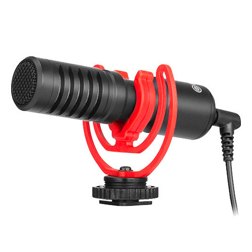 Micrófono super cardioide compacto Boya BY-MM1+