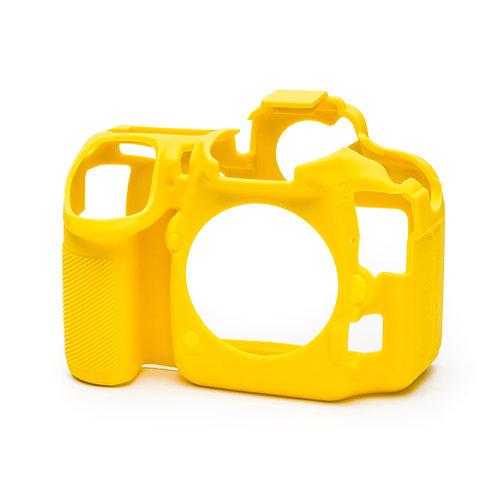 Carcasa easyCover Nikon D500, Amarillo + Mica