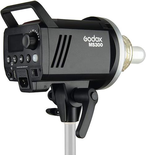 Flash de Estudio Godox MS300, 300 watts, con Sistema Godox X