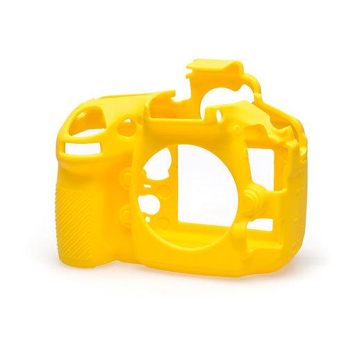 Carcasa easyCover Nikon D810, Amarillo + Mica