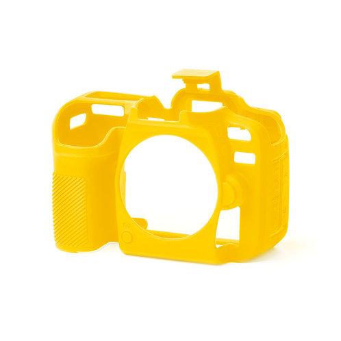 Carcasa easyCover Nikon D7500, Amarillo + Mica