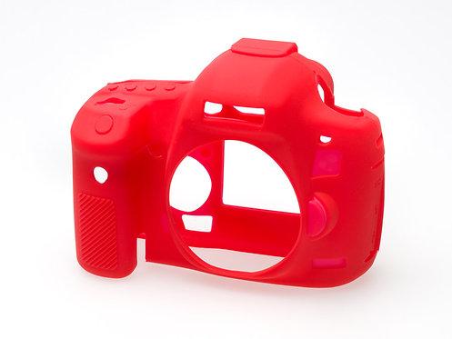 Carcasa easyCover Canon 5D Mark III, 5Dsr, 5Ds, Rojo + Mica