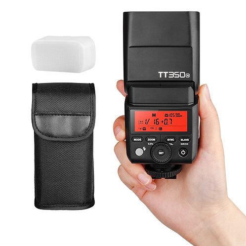 Flash Thinklite Godox TT350N con TTL, HSS, Difusor, Sistema X, para Nikon