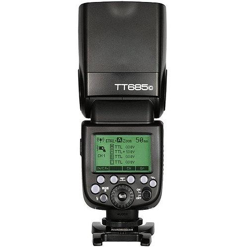 Flash Thinklite Godox TT685C E-TTL, HSS, Sistema X, para Canon