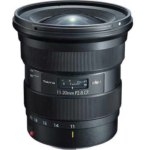 Lente Tokina ATX-i 11-20mm F2.8 CF, APS-C, para Canon EF