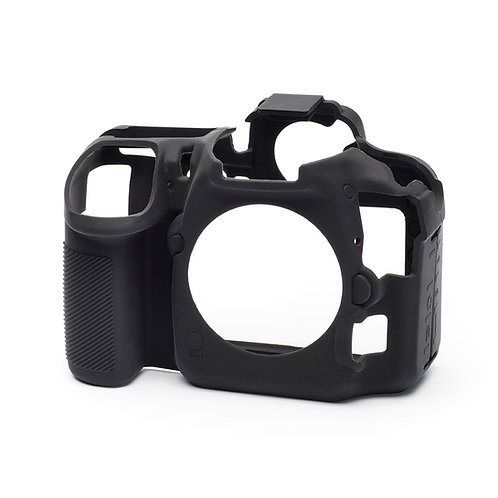Carcasa easyCover Nikon D500, Negro + Mica