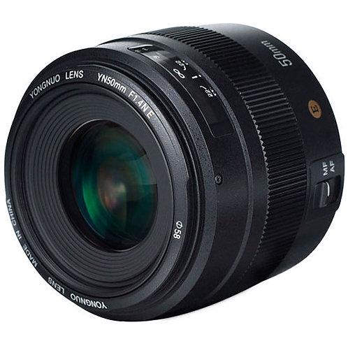 Lente Yongnuo YN50mm F1.4N E, 50mm, f1.4 para Nikon