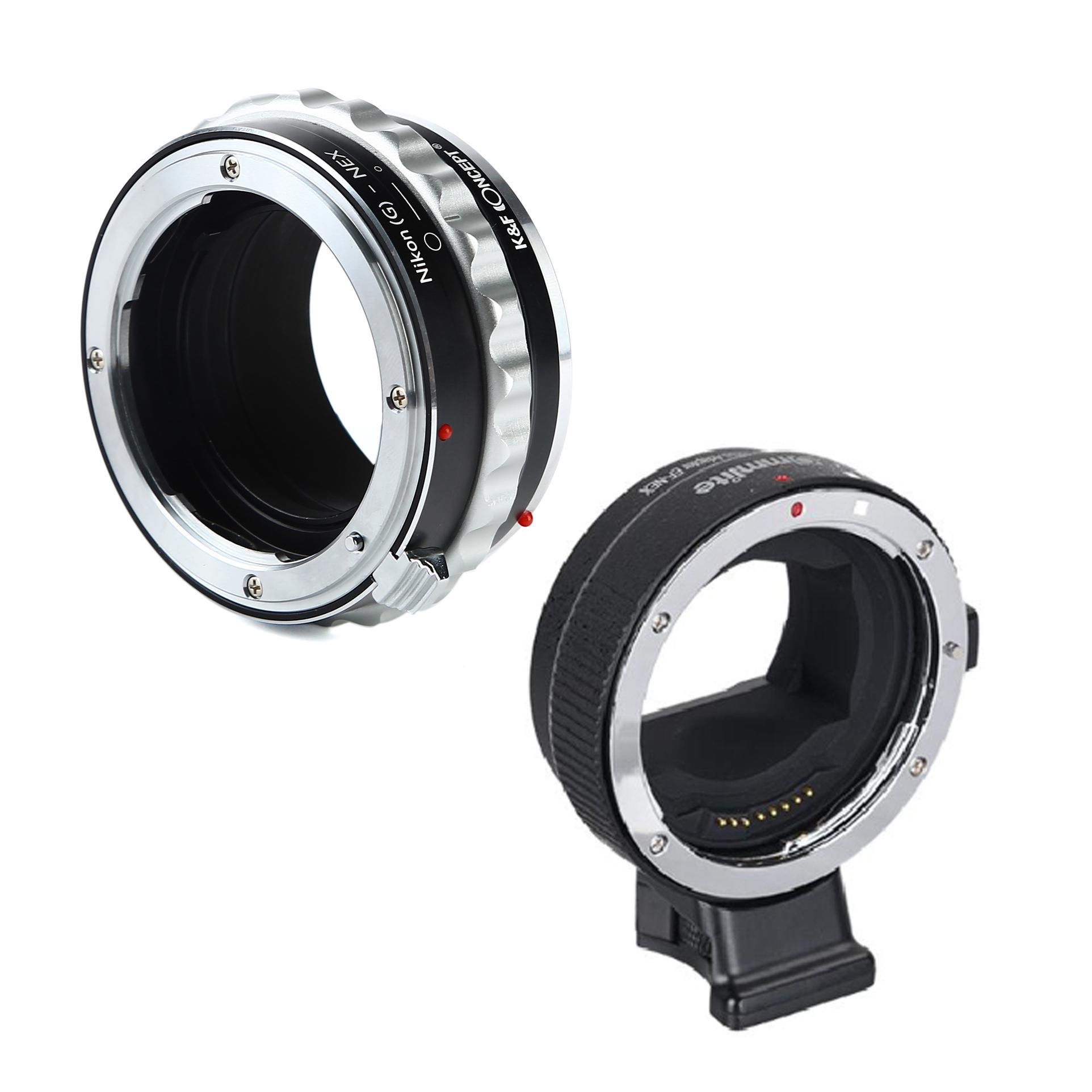 Adaptadores de lentes