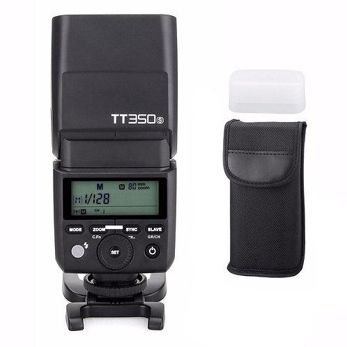 Flash Thinklite Godox TT350S con TTL, HSS, Difusor, Sistema X, para Sony