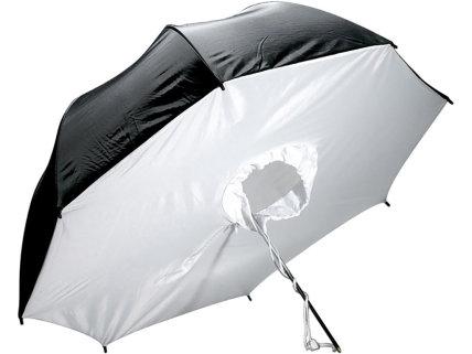 Sombrilla cerrada plateada Godox de 101cm