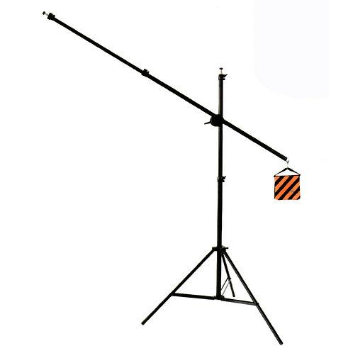 Pedestal y Jirafa 1.9m de alto, 2m de largo, 3kg de carga
