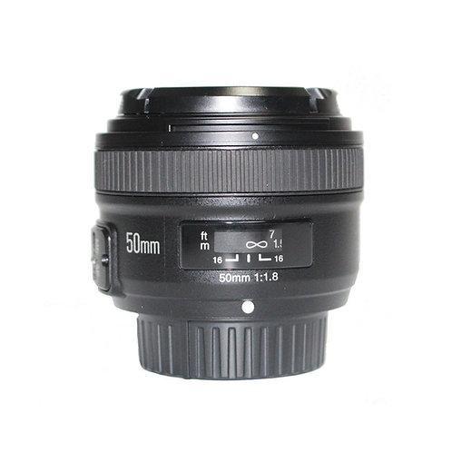 Lente Yongnuo YN50 EF, 50mm, AF-S f/1.8G para Nikon