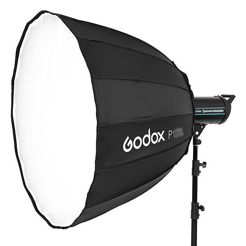 Softbox Parabolico Octogonal Godox P90H, 90cm, acople Bowens