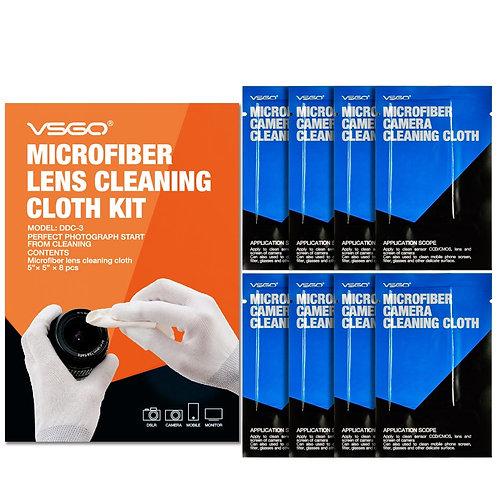 Kit de 8 paños de microfibra VSGO DDC-3