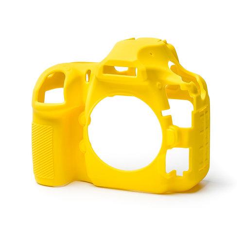 Carcasa easyCover Nikon D850, Amarillo + Mica