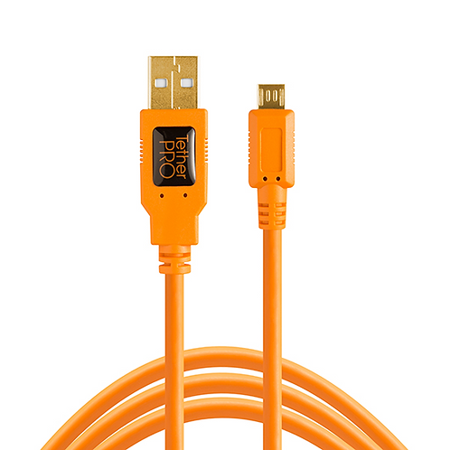 Cable Tether Tools TetherPro USB 2.0 a Micro-USB Tipo-B, 5-Pines, 4.6 metros (5)