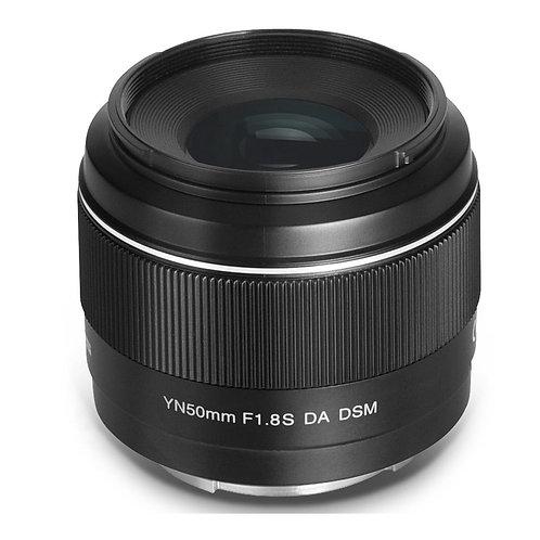 Lente Yongnuo YN50mm F1.8S DA DSM para Sony APS-C montura E