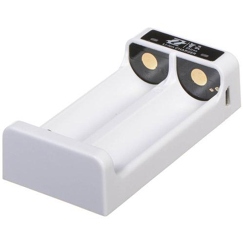 Cargador doble para 2 baterías de litio Zhiyun 18650
