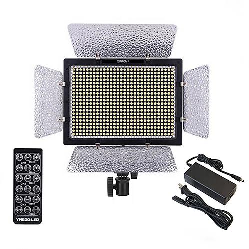 Lampara LED Yongnuo YN600L Bicolor + Transformador