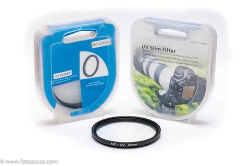 Filtro Ultravioleta Multicapa MC UV de 52mm.