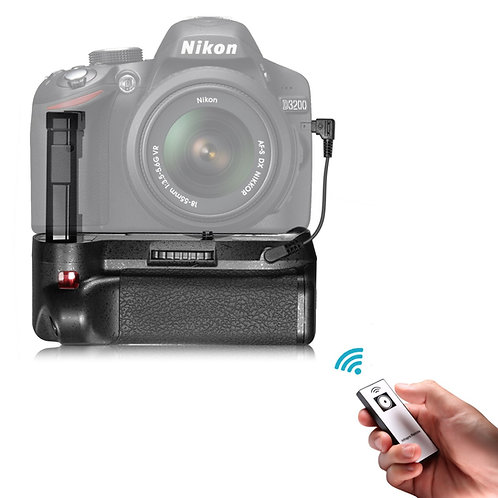 Battery Grip para Nikon D3100, D3200, D3300, D5300