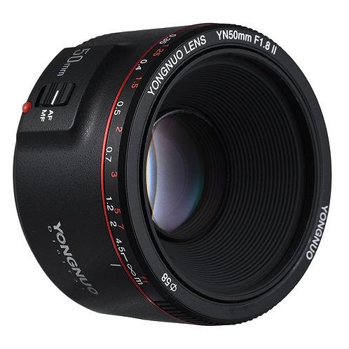 Lente Yongnuo YN50mm F1.8 II para Canon