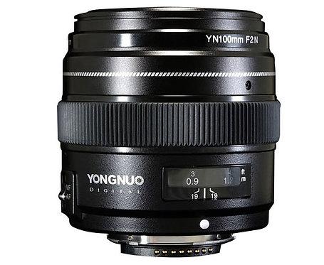 Lente Yongnuo YN100mm F2N para Nikon