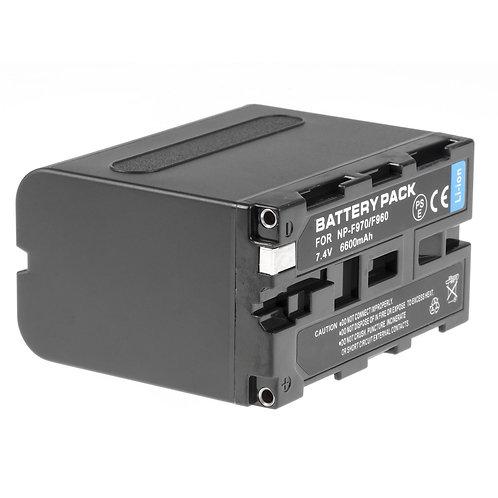 Bateria generica NP-F970/F960 de 6600 mAh