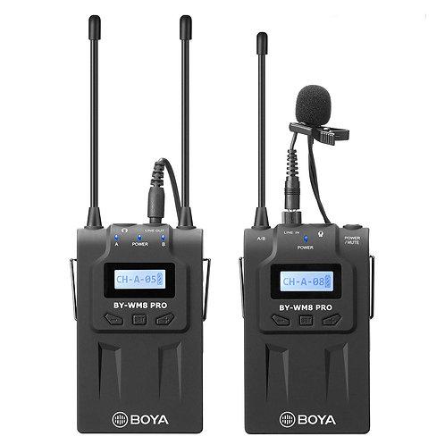 Kit Microfonos Inalambricos Profesionales Boya BY-WM8 PRO K1
