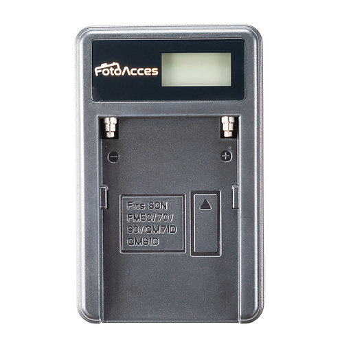 Cargador FotoAcces para Sony NP-F330, F550, F570, F750, F770, F950, F970