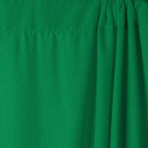 Poliéster antiarrugas Savage Green (Verde Croma), 1.52 x 2.74 m