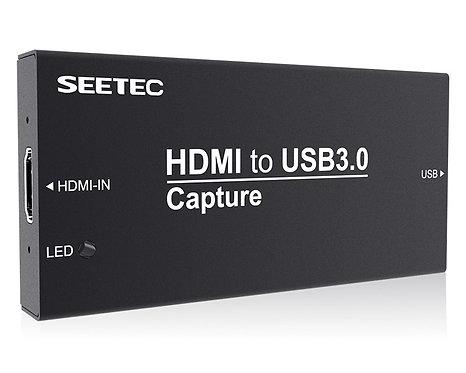 Capturadora de video profesional, Seetec HTUSB, HDMI - USB 3.0