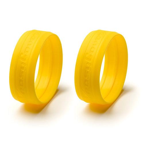 Anillos EasyCover para lentes - Amarillo