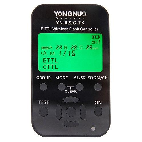 Transmisor disparador Yongnuo YN622C-TX, e-TTL, HSS, para Canon