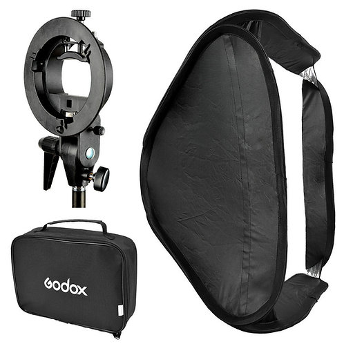 Softbox Godox 60x60cm con Bracket Tipo S